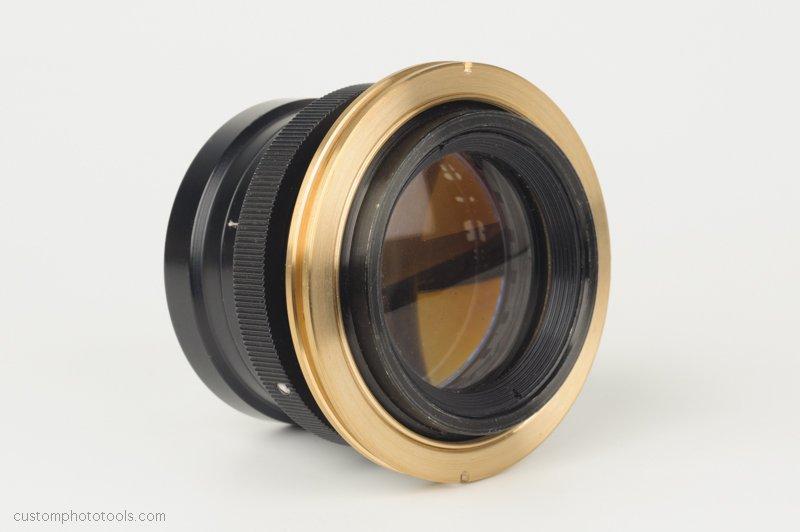 Lensboard adapter for vintage large-format lenses on Sinar cameras with Sinar shutter